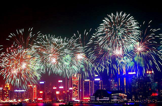 hongkong firework